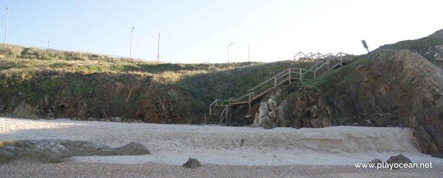 Escadaria Sul na Praia da Concha
