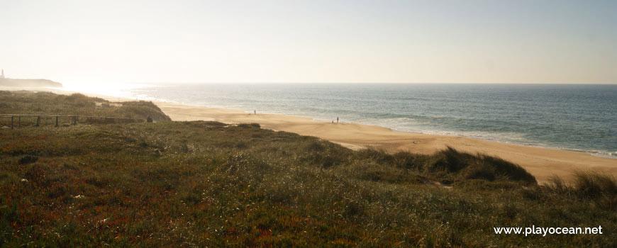 Sul da Praia das Pedras Negras