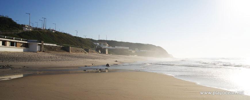 South of Praia de São Pedro de Moel Beach
