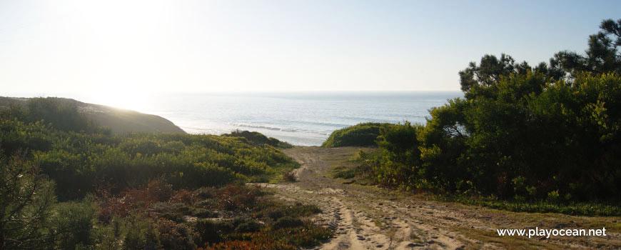Access to Praia das Valeiras Beach