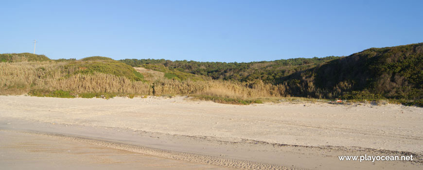 Cliff of Praia das Valeiras Beach