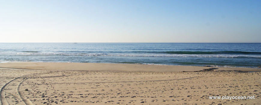Seaside of Praia das Valeiras Beach