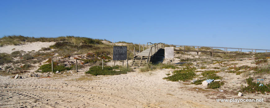 Entrada da Praia da Vieira (Norte)