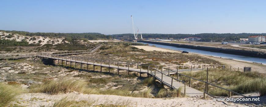 Passadiços na Praia da Vieira (Norte)
