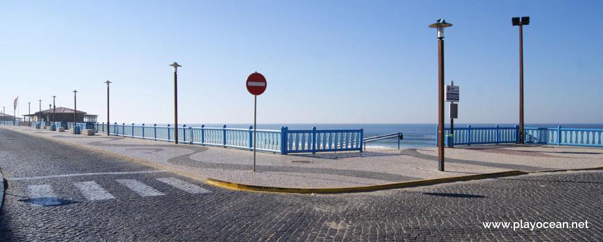 Entrada, Praia da Vieira