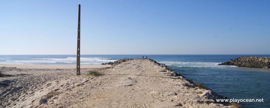 Rio Lis na Praia da Vieira