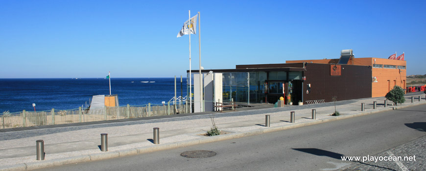 Bar at Praia de Angeiras (North) Beach