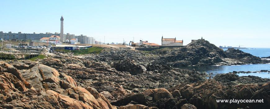 Rocks at Praia Azul Beach