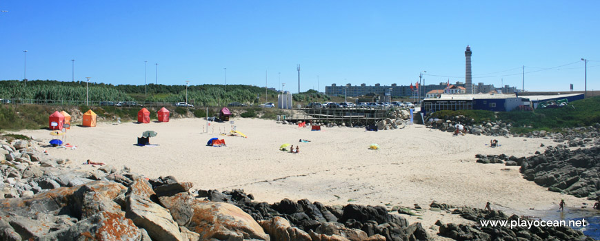 Panoramic of Praia Azul Beach