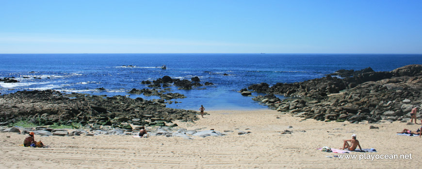 Sea at Praia da Boa Nova Beach