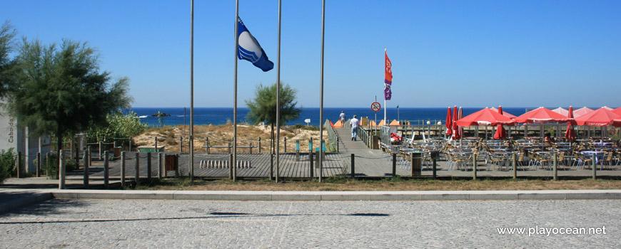 Entrance to Praia do Cabo do Mundo Beach