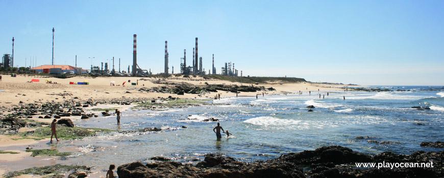 Banhos na Praia do Cabo do Mundo
