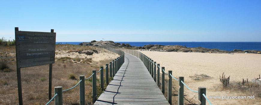 Walkway at Praia da Memória Beach