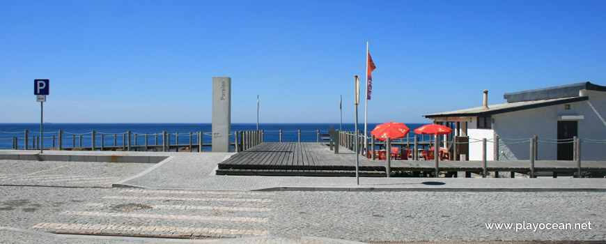 Entrance to Praia do Paraíso Beach