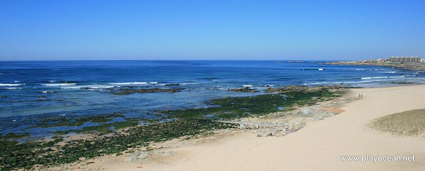 Mar na Praia das Salinas