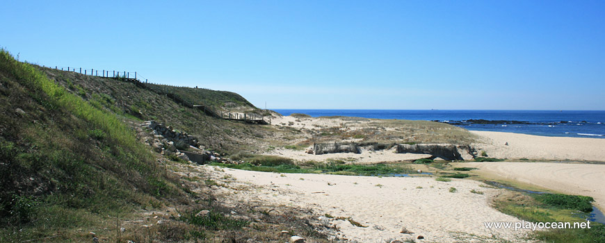 Ribeira da Guarda na Praia das Salinas