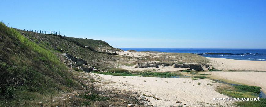 The Guarda Stream at Praia das Salinas Beach