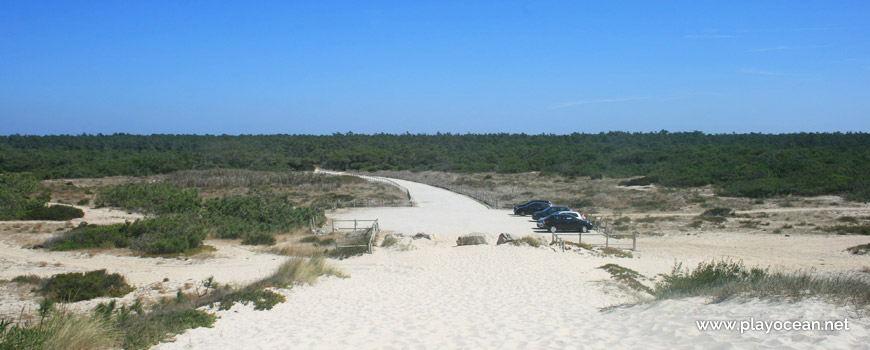 Parking at Praia de Mira (South) Beach