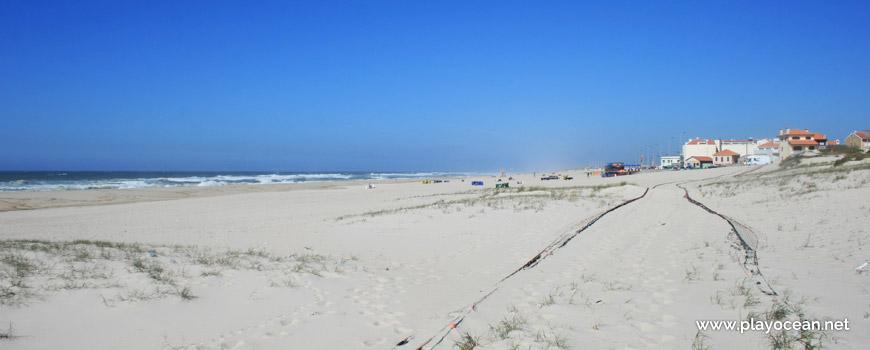 North of Praia da Colónia de Férias Beach