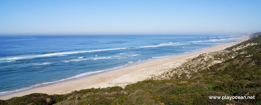 North of Praia da Areeira Beach