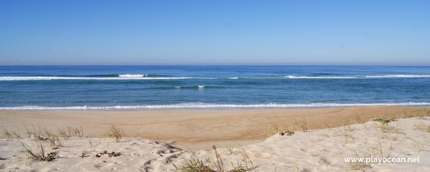 Sea at Praia da Areeira Beach
