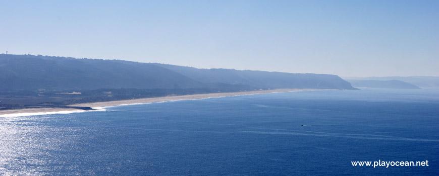 Panoramic of Praia do Salgado Beach
