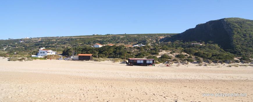 Bars at Praia do Salgado Beach