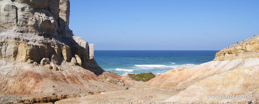 Chegada, Praia da Estrela