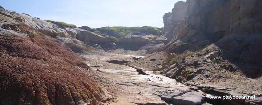 Falésia na Praia da Estrela