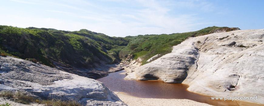 Stream, Praia do Rei do Cortiço Beach