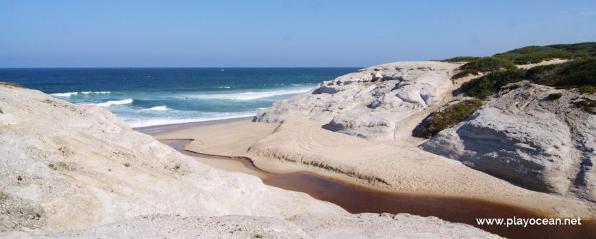 South sand at Praia do Rei do Cortiço Beach