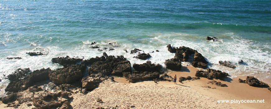 Rochas à beira-mar