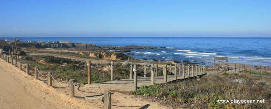 Acesso à Praia de Almograve