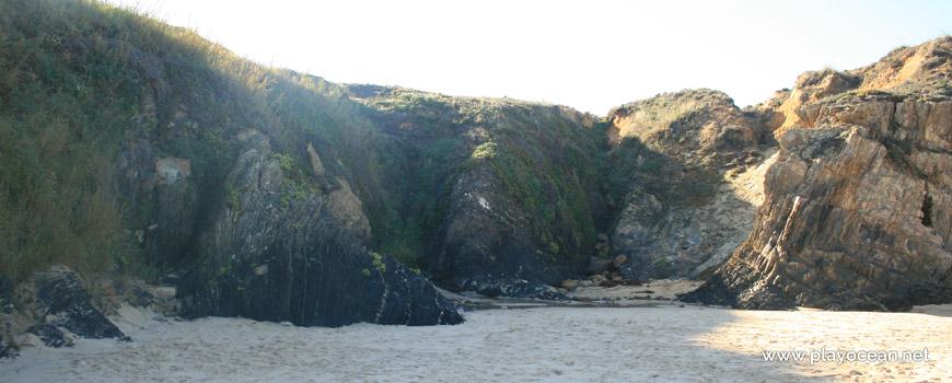Falésia, Praia de Almograve