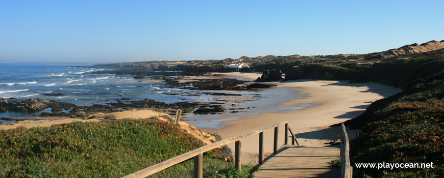 Descida à Praia de Almograve