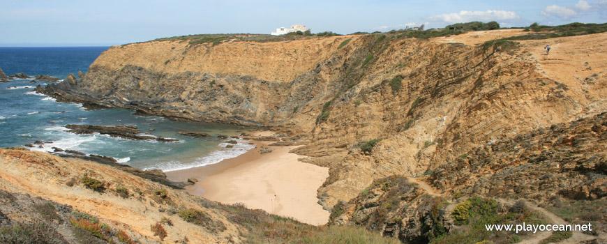 Topo da fálesia, Praia dos Alteirinhos