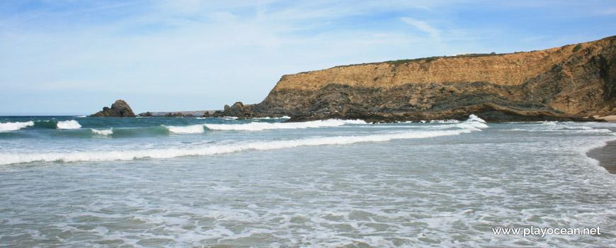 Falésia Norte na Praia dos Alteirinhos
