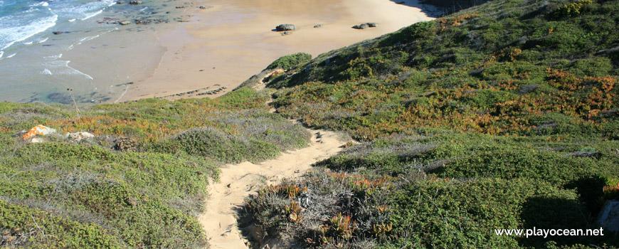Acesso à Praia da Amália