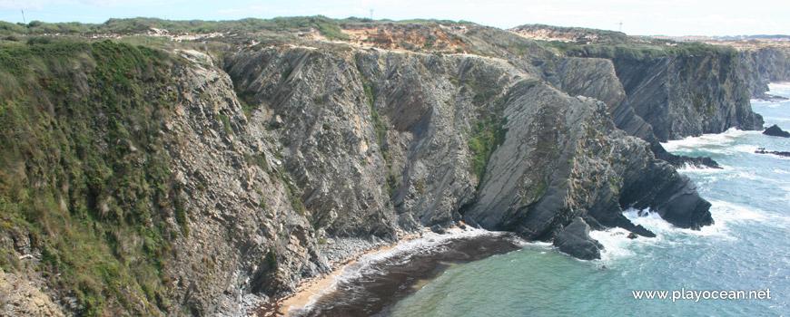 Sul na Praia da Baía da Arquinha
