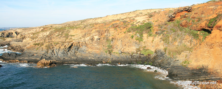 Falésia na Praia da Barca Grande