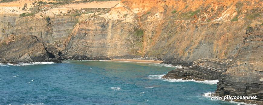 Falésia na Praia do Cão