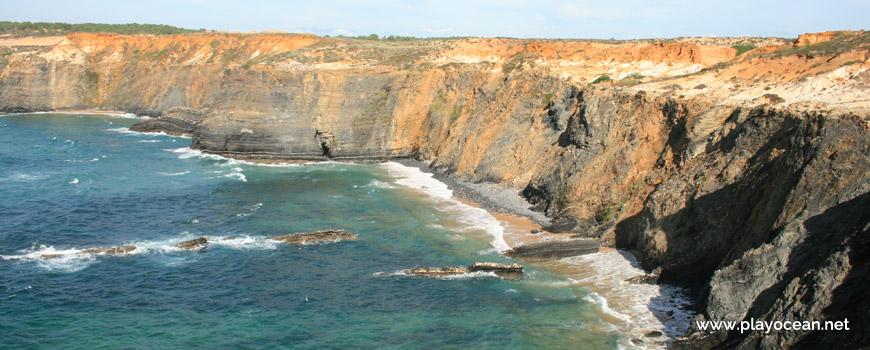 Norte na Praia do Cão
