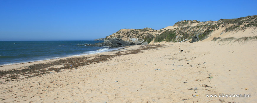 Norte na Praia do Carreiro das Fazendas