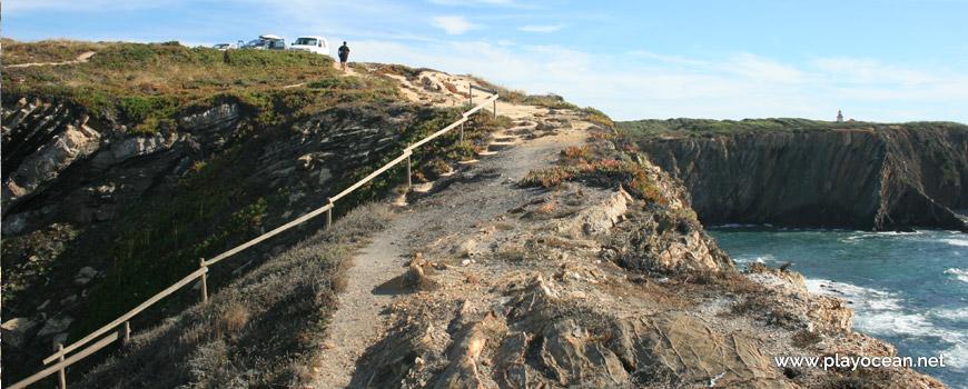 Subida da Praia do Cavaleiro