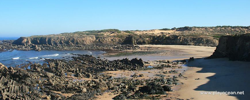 Norte na Praia da Foz dos Ouriços