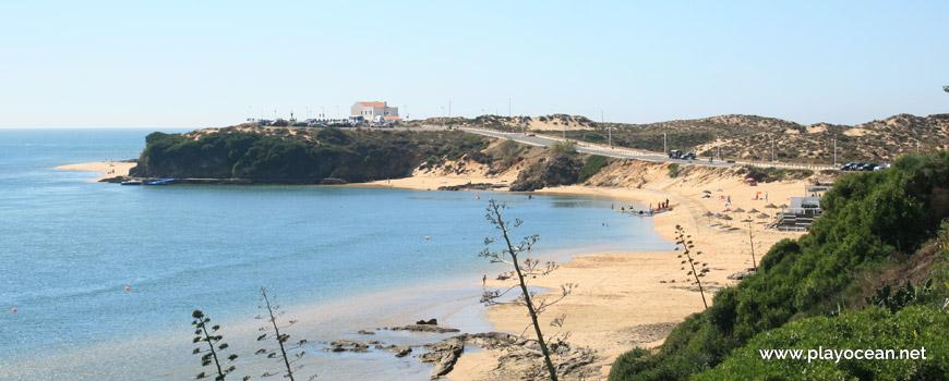 Oeste na Praia da Franquia