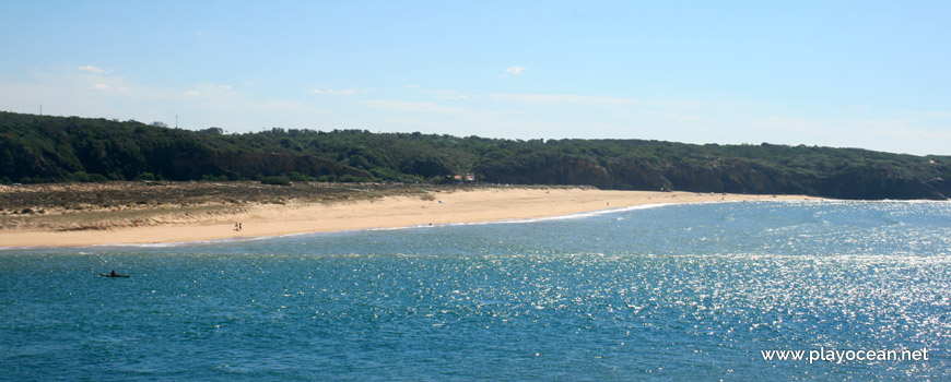 Praia das Furnas Beach on the south margin