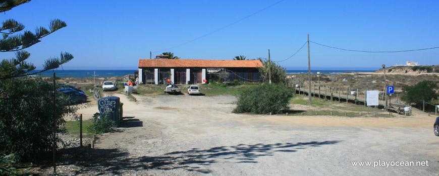 Entrada, Praia das Furnas