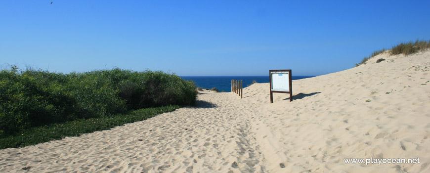 Entrada, Praia do Malhão (Centro)