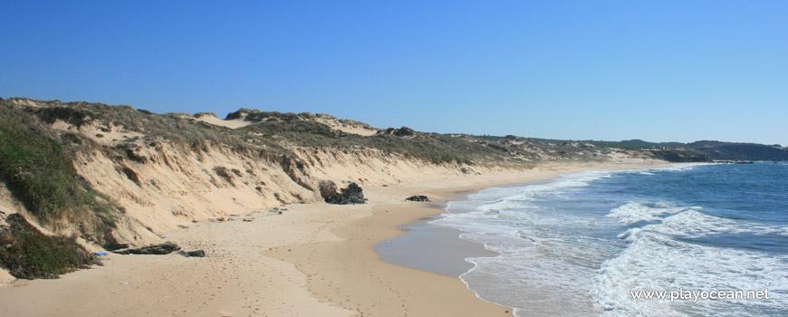 Sul na Praia do Malhão (Centro)